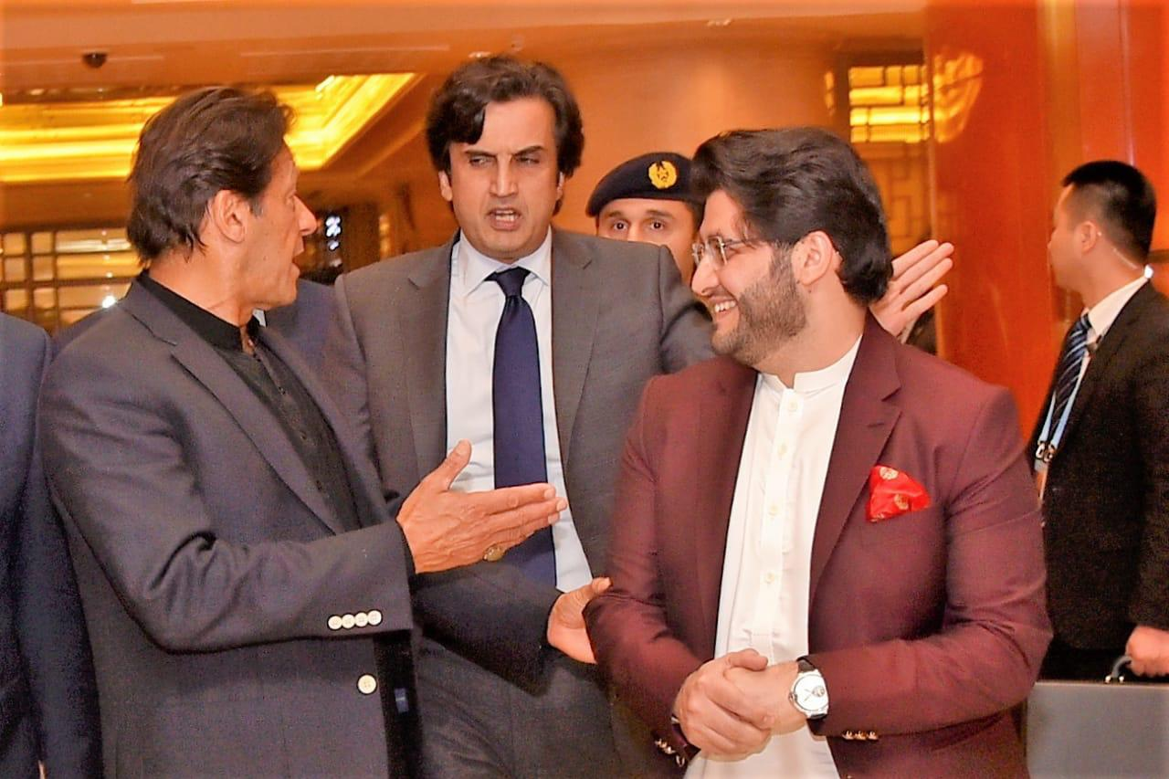 Chairman Javed Afridi visit to china with PM Imran Khan