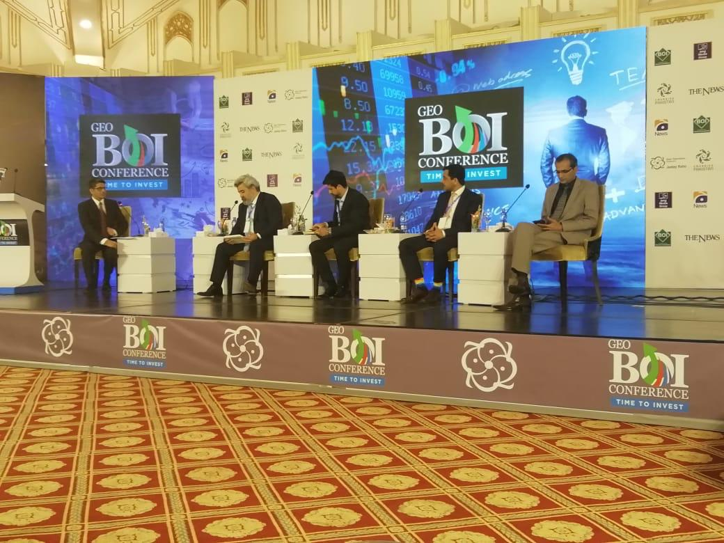 Executive Director Mr. Shakeel Ahmad Ramay delivered Lecture at Board of Investment and Geo Conference
